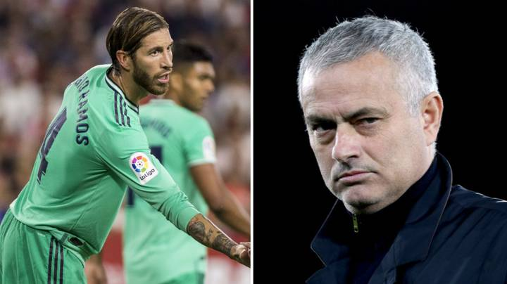Sergio Ramos Responds To Jose Mourinho Return Rumours