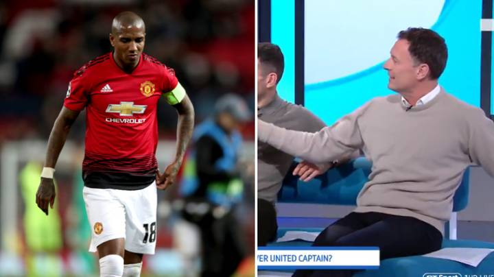 Ashley Young Is 'The Worst Ever Man Utd Captain And The Worst Ever Man Utd Right-Back'