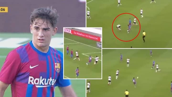 Gavi Showed Shades Of Xavi With Midfield Masterclass Performance For Barcelona In 3-0 Win Vs Stuttgart
