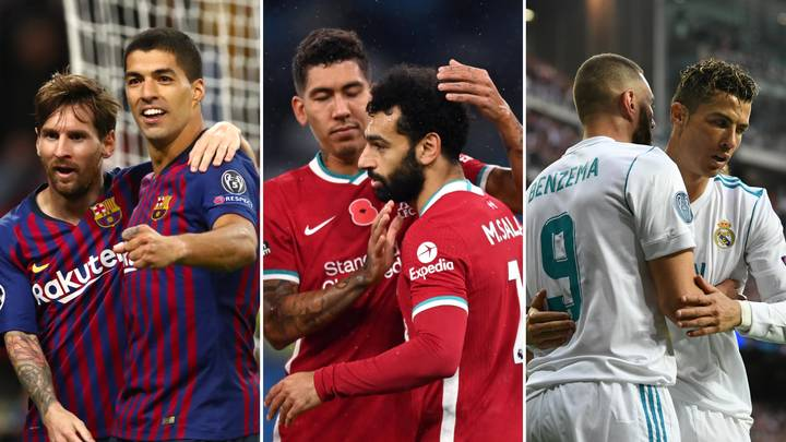 The 30 Greatest Goalscoring Duos Of This Century Have Been Revealed