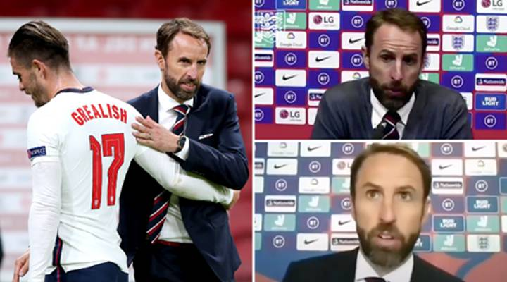 Gareth Southgate Accused Of Jack Grealish Agenda After Bizarre Post-Match Interview