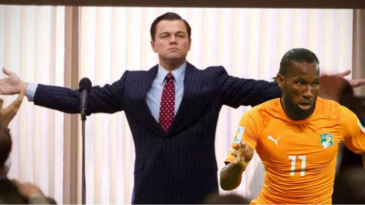 """Didier Drogba Plays Down Retirement With """"I'm Not Leaving"""" Wolf Of Wall Street Video"""