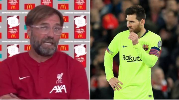 Jurgen Klopp's Response When Asked If Liverpool Are Interested In Signing Lionel Messi