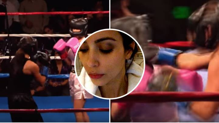 Remembering When Kim Kardashian Had A Boxing Fight For Charity