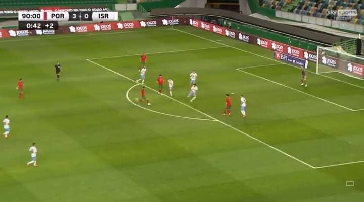 Bruno Fernandes Effortlessly Rockets In Last-Minute Screamer In Portugal's Euro 2020 Warm-Up