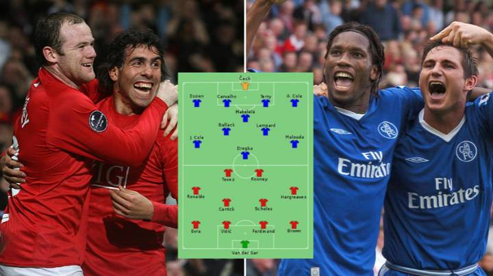 Manchester United And Chelsea Squad Pic From 2008 Champions League Final Shows How Things Have Changed