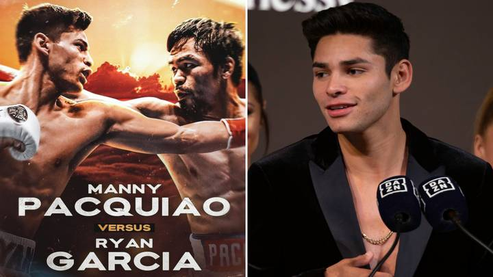 Ryan Garcia Confirms Super Fight With Boxing Legend Manny Pacquiao