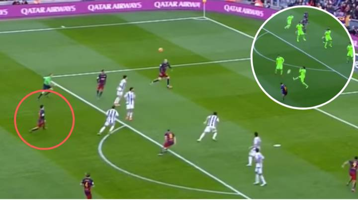 Compilation Shows Lionel Messi Is The 'Picasso Of Lobbed Passes'