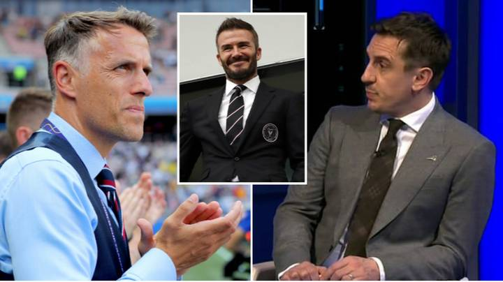 Gary Neville Hits Back At Claims Phil Neville Got The Inter Miami Job Because He's 'Mates' With David Beckham