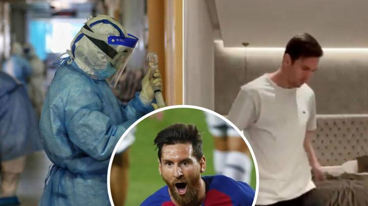 Lionel Messi has £900 Coronavirus-Killing Mattress On His Bed
