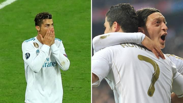 Cristiano Ronaldo Reveals His True Feelings About Mesut Özil Leaving Real Madrid For Arsenal