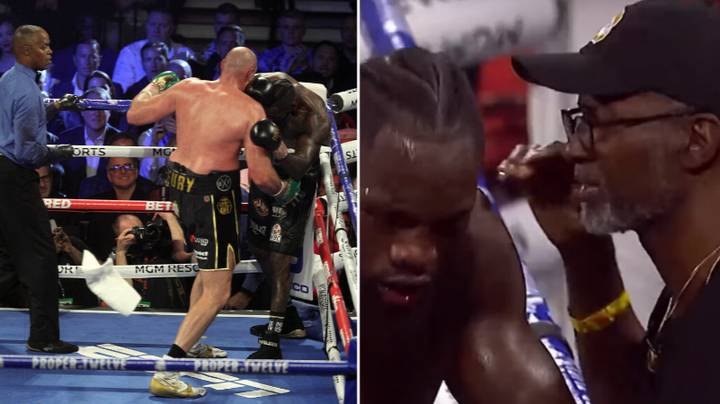 Deontay Wilder Controversially Makes Final Decision On Trainer Who Threw In The Towel Against Tyson Fury