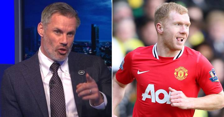Jamie Carragher Controversially Leaves Out Paul Scholes As He Names His All-Time Premier League Greats