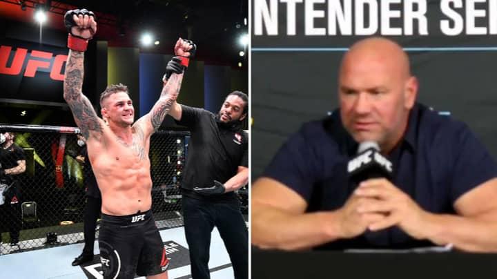 Dustin Poirier Hits Back At Dana White Claiming He Didn't Want Tony Ferguson Fight
