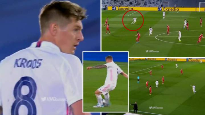 Toni Kroos' Highlights For Real Madrid Against Liverpool Are Perfection