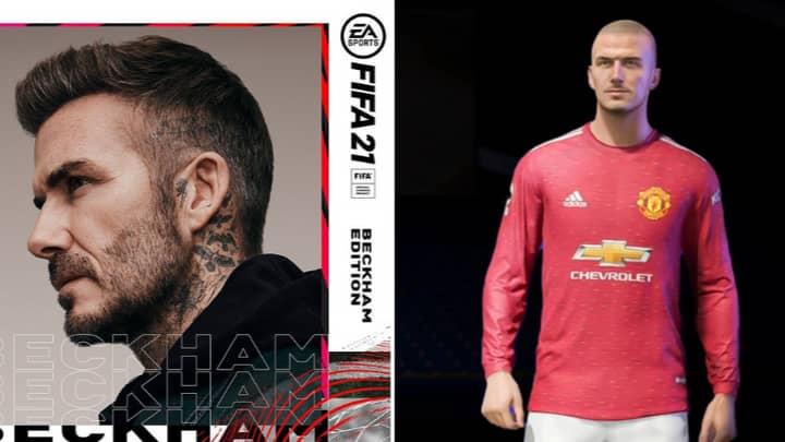David Beckham Is Officially The FIFA 21 'Next Gen' Cover Star