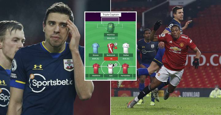 Fantasy Premier League Manager Who Triple Captained Jan Bednarek Gets Record Minus Score