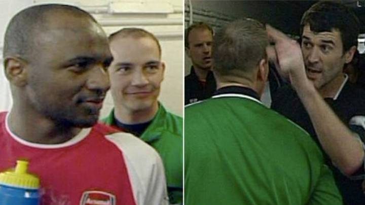 Why Roy Keane Completely Lost His Head During Tunnel Bust-Up With Patrick Vieira
