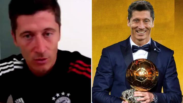 Robert Lewandowski Reacts To 190,000 Fans Signing A Petition To Bring The Ballon d'Or Back