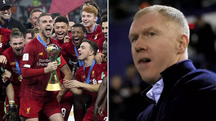 Paul Scholes Brutally Plays Down Liverpool's Club World Cup Victory