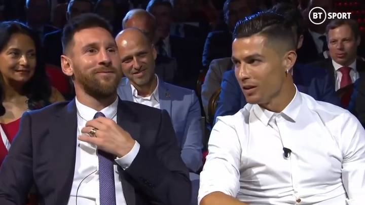 Cristiano Ronaldo Invites Lionel Messi To Dinner Live At Champions League Draw