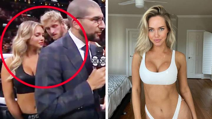 Photo Of Logan Paul 'Chatting Up' And 'Flirting' With Ring Girl Goes Viral