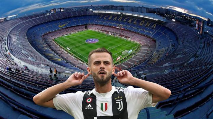 Juventus And Barcelona Have Agreed Exchange Deal For Miralem Pjanic