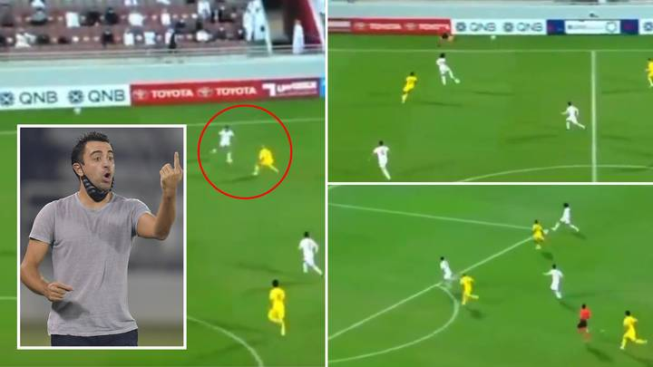 Xavi Proves He Is The Perfect Barcelona Manager After Al Sadd Score Stunning Tiki-Taka Goal