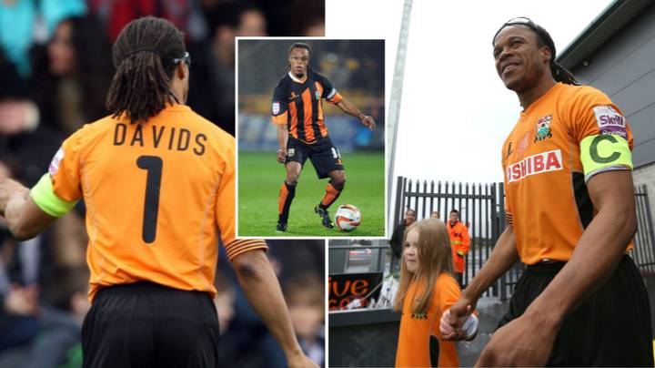 Edgar Davids: The Story Behind His Infamous 'Number One' Shirt At Barnet