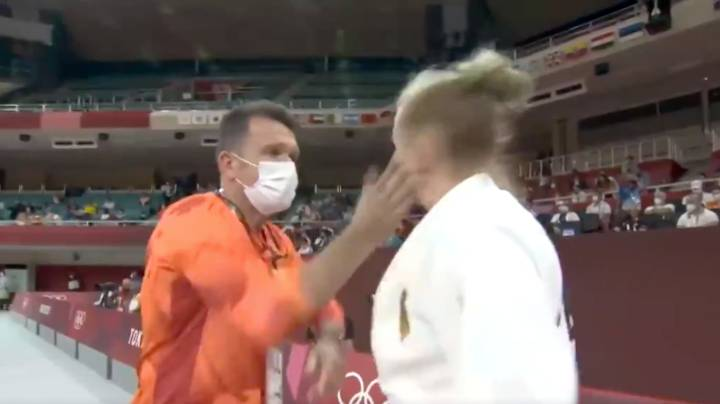 Olympics Viewers Shocked After Coach Slaps Athlete On Live TV