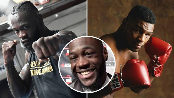 WBC Champ Deontay Wilder Once Boasted That He Could KO 1986 Mike Tyson