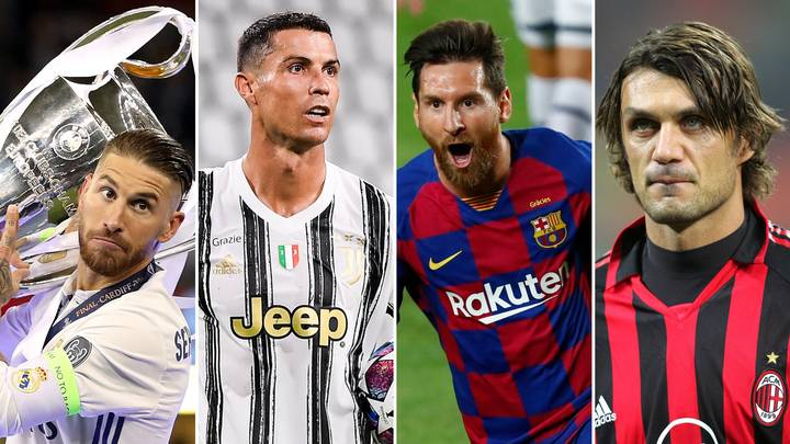 The Greatest Champions League XI Of All Time Has Been Chosen By Fans
