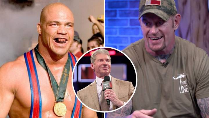 The Undertaker Opens Up About Choking Kurt Angle Unconscious After 'Fighting' With Vince McMahon