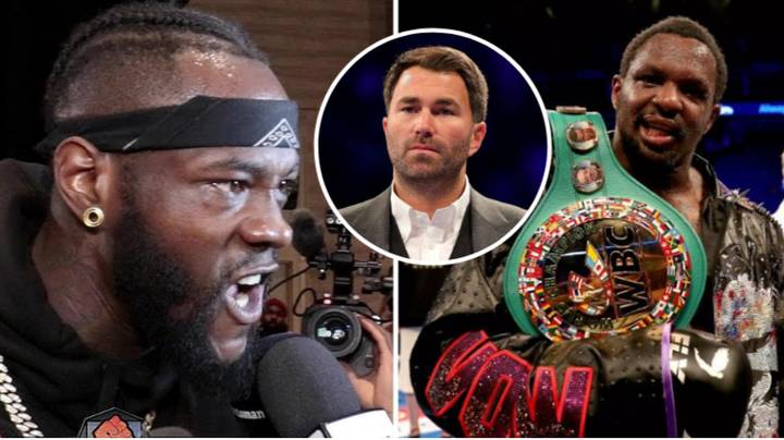 Deontay Wilder Reacts After Dillian Whyte Accused Of Testing Positive For Banned Substance