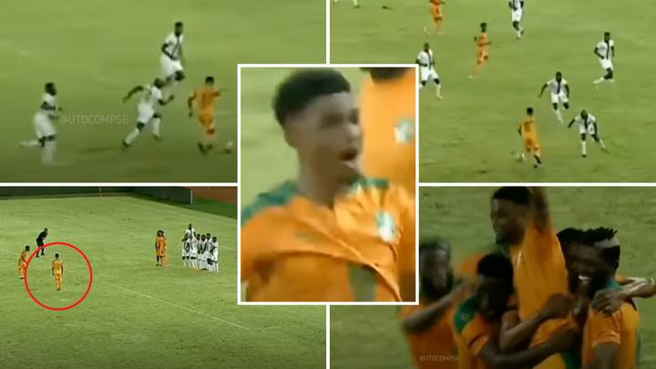 Amad Diallo Comp For Ivory Coast Leads To Fans Comparing Him As 'No 10 Playmaker Like Bruno Fernandes'