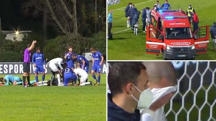 Pepe In Tears As FC Porto Player Nanu Knocked Unconscious In Horror Collision With Goalkeeper