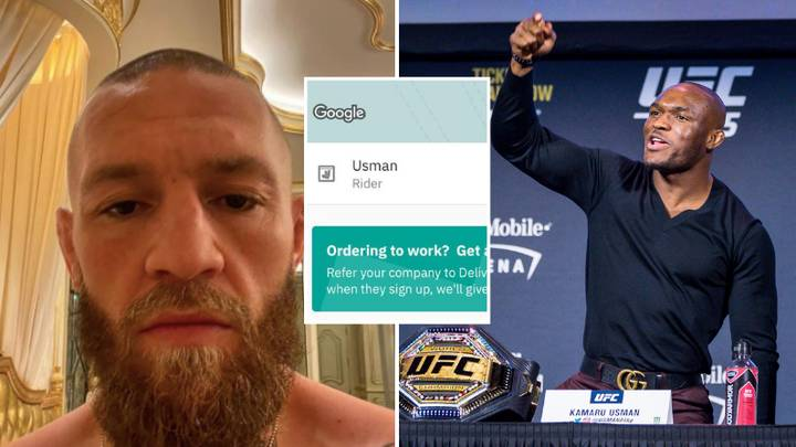 Conor McGregor Calls Out Deliveroo Driver Named 'Usman' And Tells Him To 'Hurry The F**k Up' With His Dinner