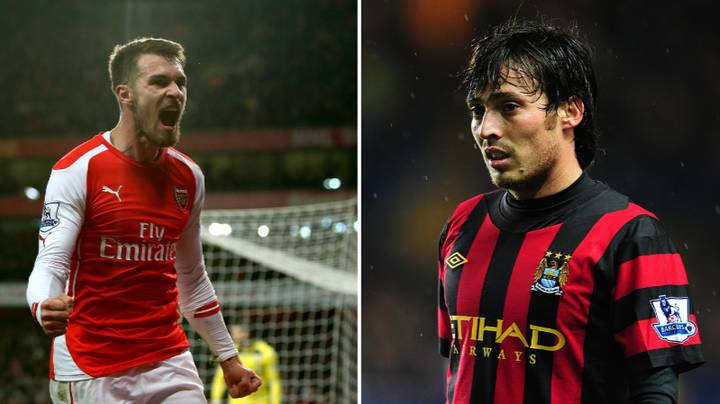 Arsenal Fans Theory About Aaron Ramsey Being Better Than David Silva Goes Viral
