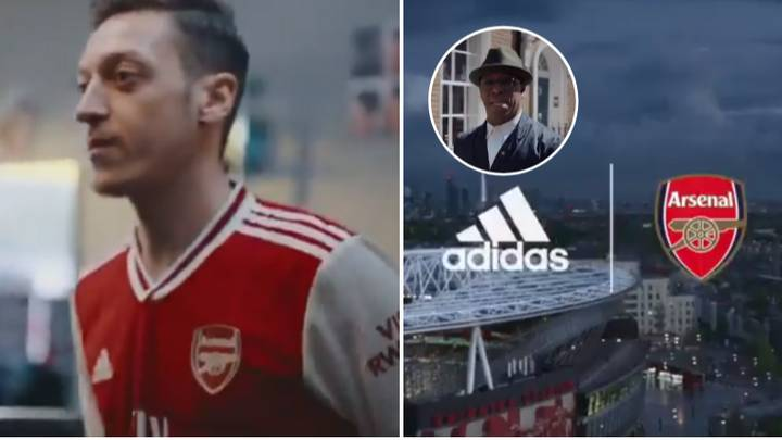 Arsenal's New Home Kit Accidentally Leaked By Adidas In Video Starring Ian Wright