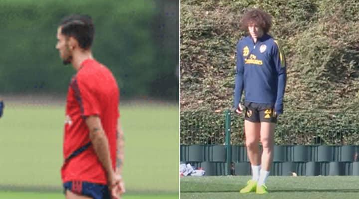 Dani Ceballos Hits Out At Reports Of Fight With David Luiz At Arsenal Training