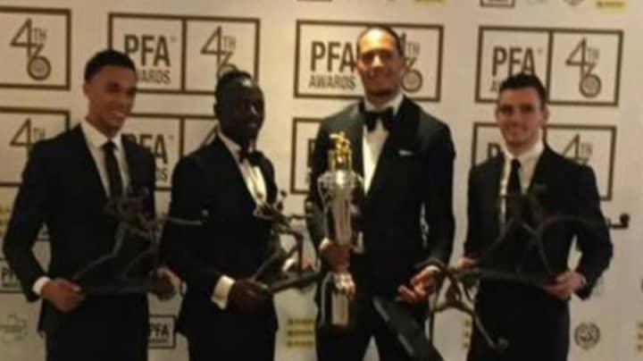 Virgil Van Dijk Wins PFA Players' Player Of The Year Award