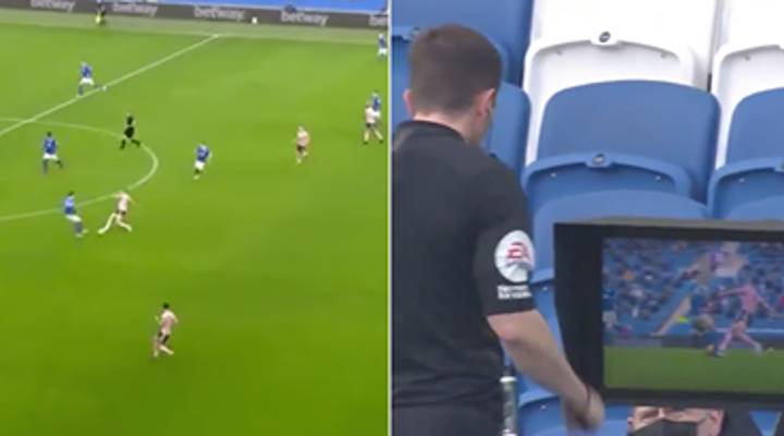 John Lundstram Sent Off During Brighton Vs Sheffield United And Fans Are Outraged