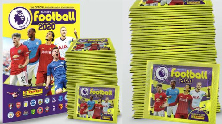 The 2019/20 Panini Premier League Sticker Book Has Been Released