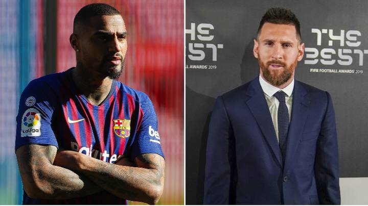 'Lionel Messi Made Me Want To Quit Football' - Kevin-Prince Boateng Compares Barcelona Star To Cristiano Ronaldo