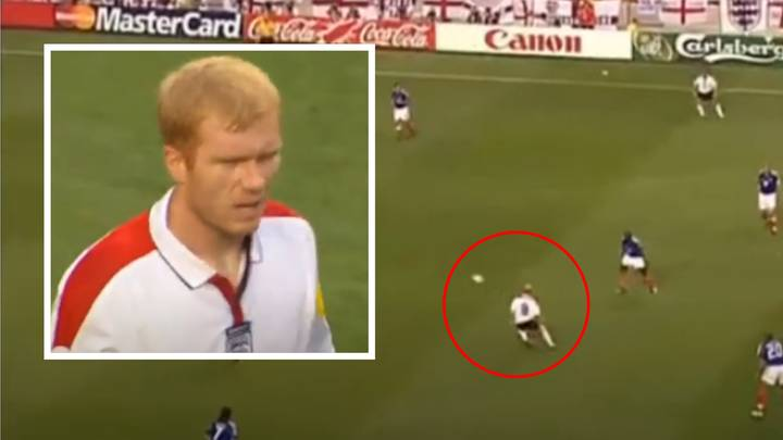 Paul Scholes' Individual Highlights Vs France At Euro 2004 Show He Dropped A Masterclass