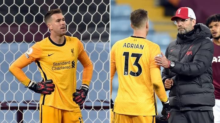 Liverpool Launch Deadline Day Bid For New Goalkeeper After Adrian Disasterclass Vs Aston Villa