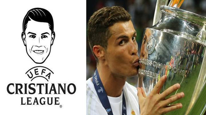 Cristiano Ronaldo Thinks The Champions League Should Be Renamed 'CR7 Champions League'