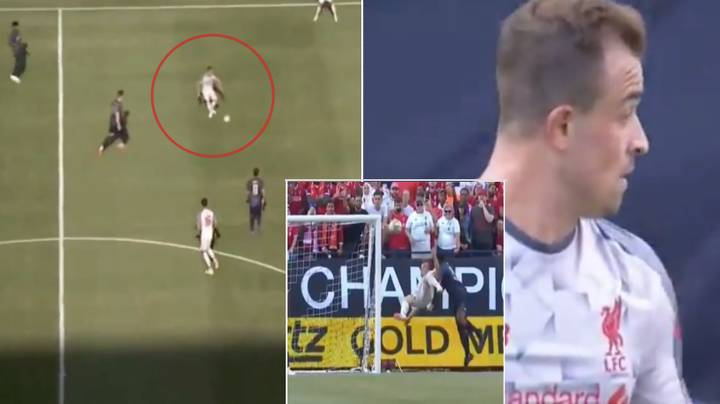 Xherdan Shaqiri's Individual Highlights Against Manchester United Are A Must Watch