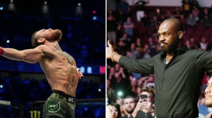 Jon Jones Responds To Conor McGregor's 'MMA GOAT' Claims
