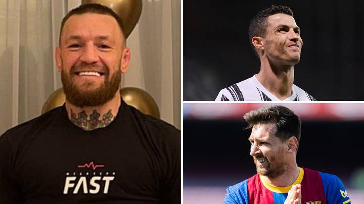 UFC Star Conor McGregor Reacts To Beating Cristiano Ronaldo And Lionel Messi As World's Highest-Paid Athlete